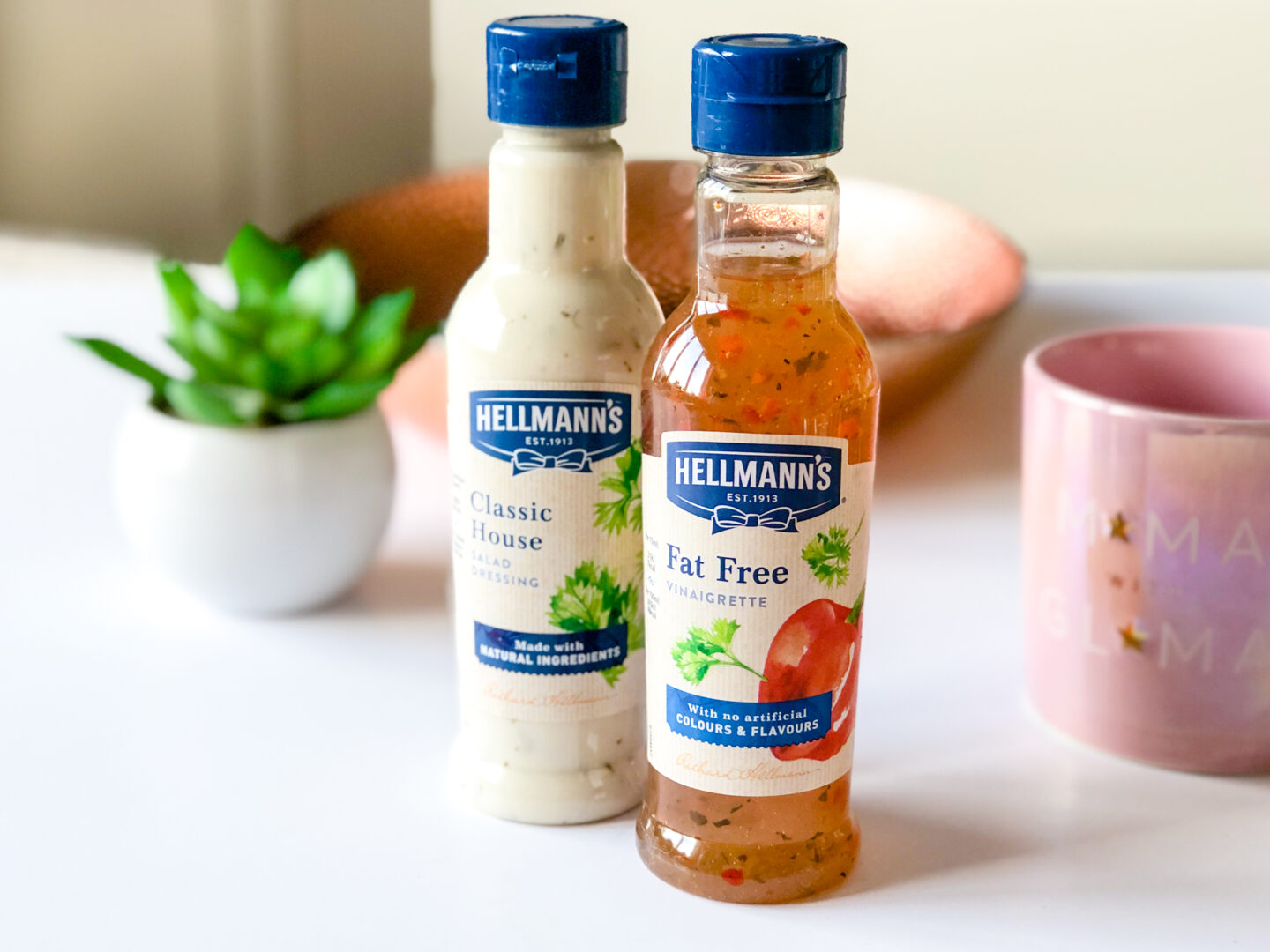 Hellman's Fat-Free Salad Dressing and House Salad Dressing - May 2020 Degusta Box