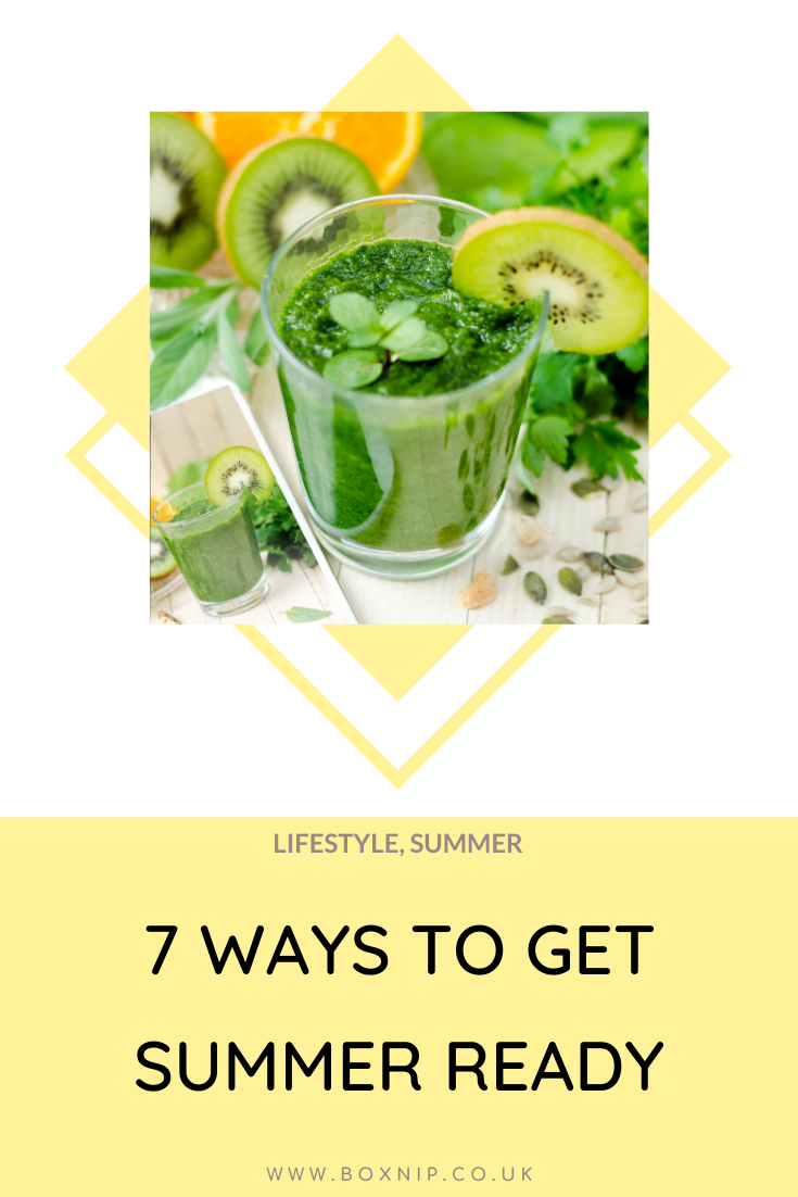 Detox - 7 Ways To Get You Summer Ready