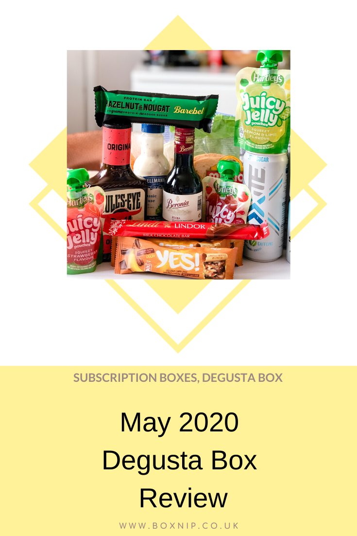 May 2020 Degusta Box Review