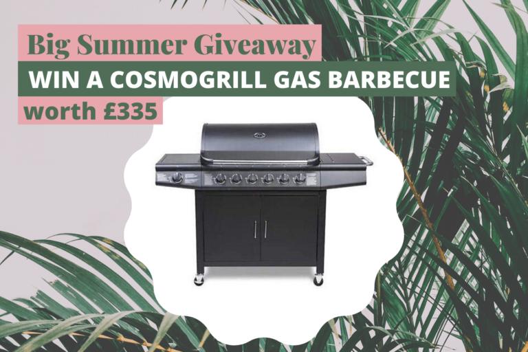 Win a Cosomogrill Gas Barbecue