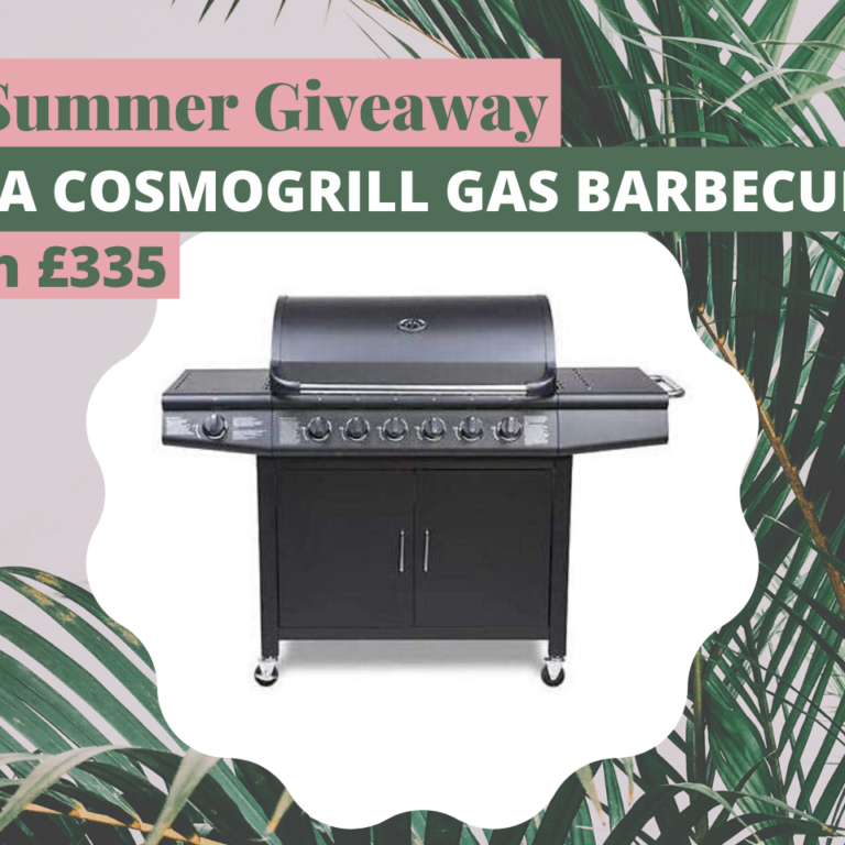 Win a Cosomogrill Gas Barbecue