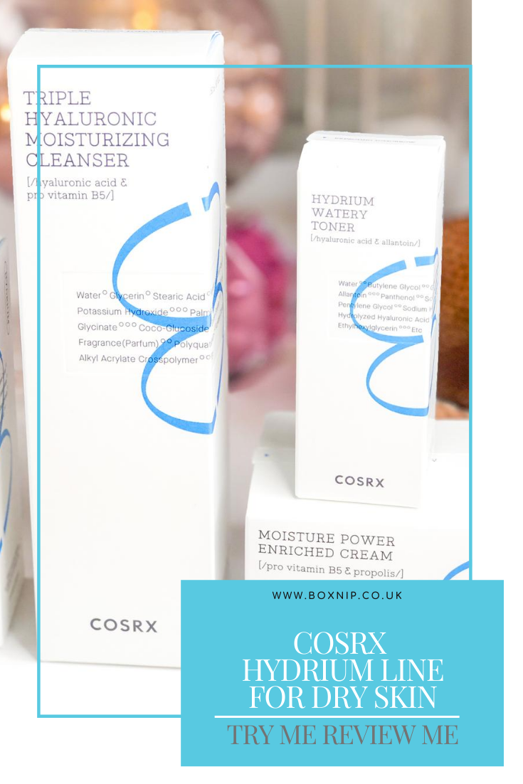 COSRX Hydrium Line for Dry Skin