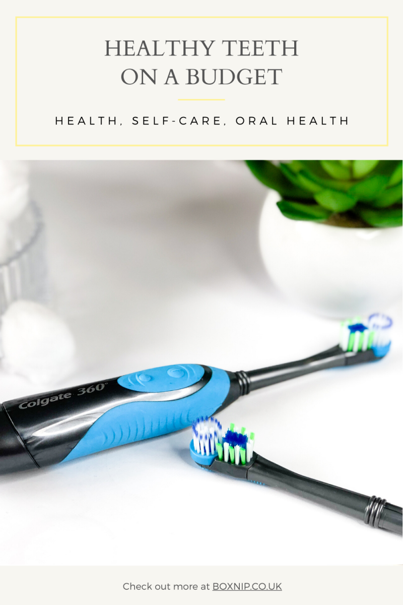 Healthy Teeth on a Budget -PIN THIS!