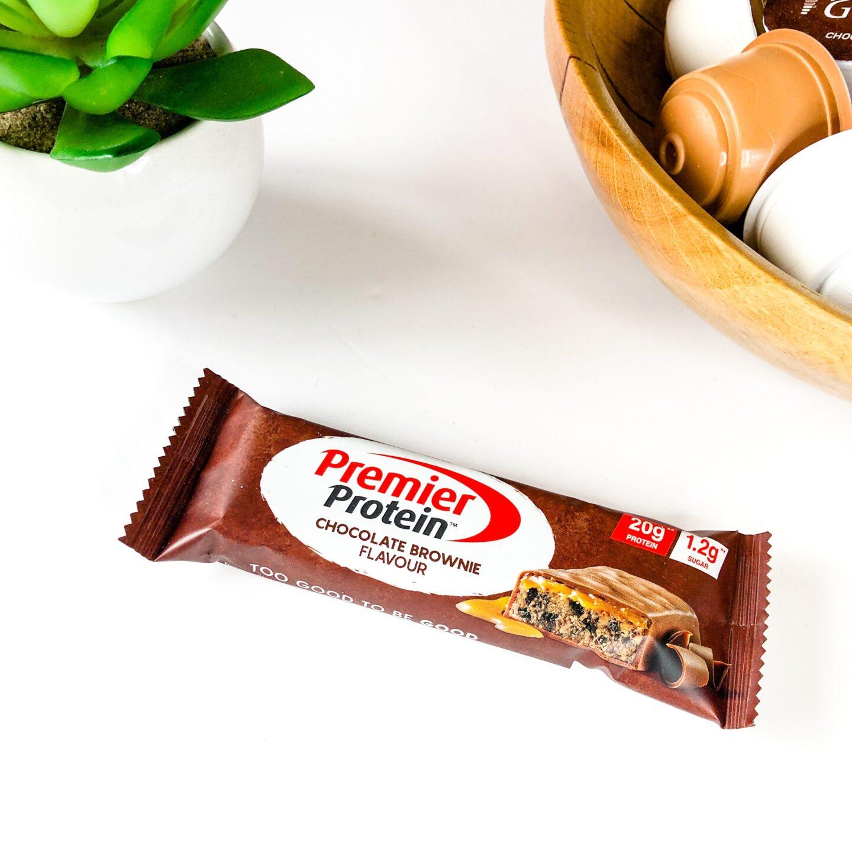 Chocolate Brownie flavoured Protein Bar - Premier Protein - July 2020 Degusta Box