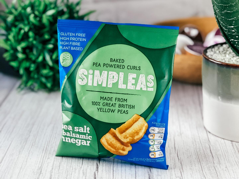 Simpleas Baked Pea Powered Curls