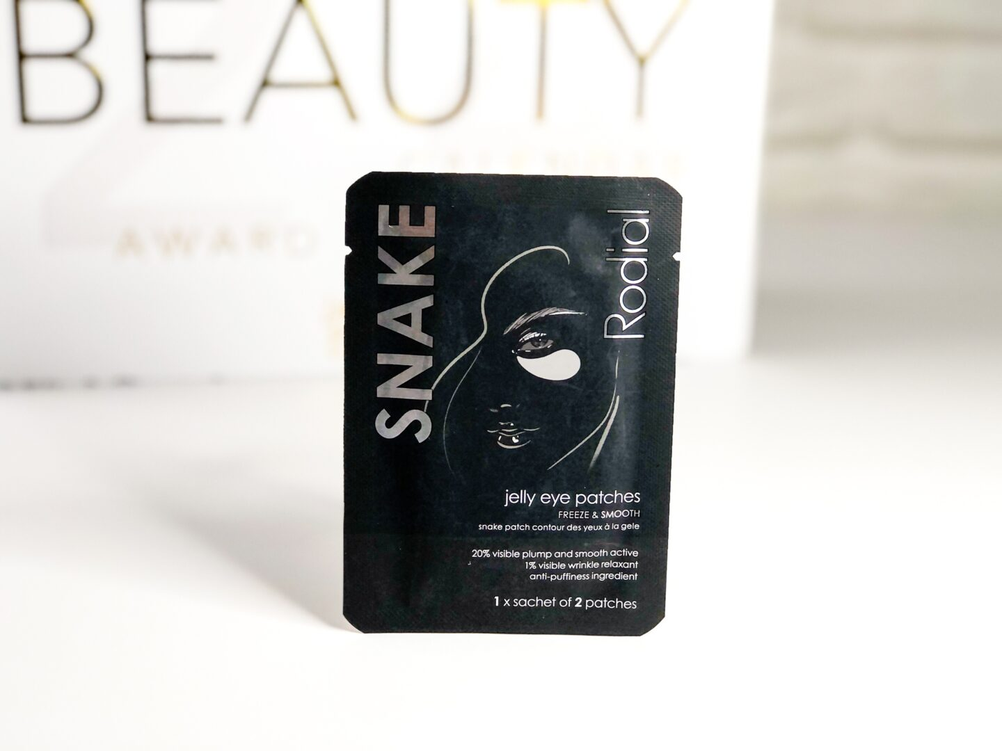 Rodial Snake Jelly Eye Mask - Beauty Calendar: The Award Winners
