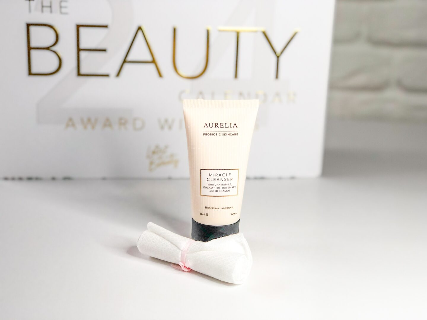 Aurelia Miracle Cleanser and Muslin Cloth - Beauty Calendar: The Award Winners