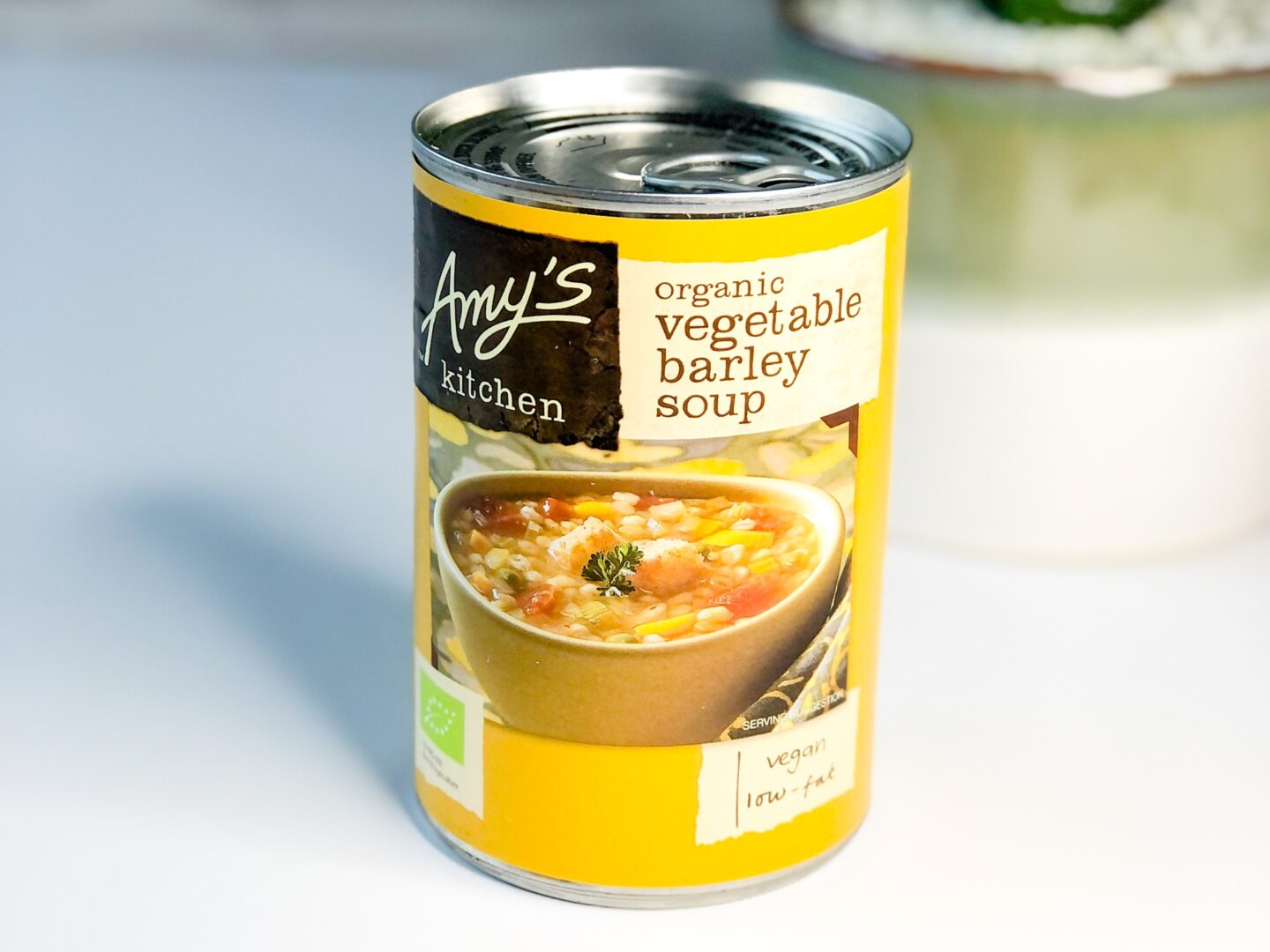 Amy's Kitchen Organic Vegetable Barley Soup - Degusta Box Contents September 2020