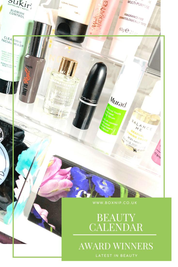 Beauty Calendar: The Award Winners - Pin It