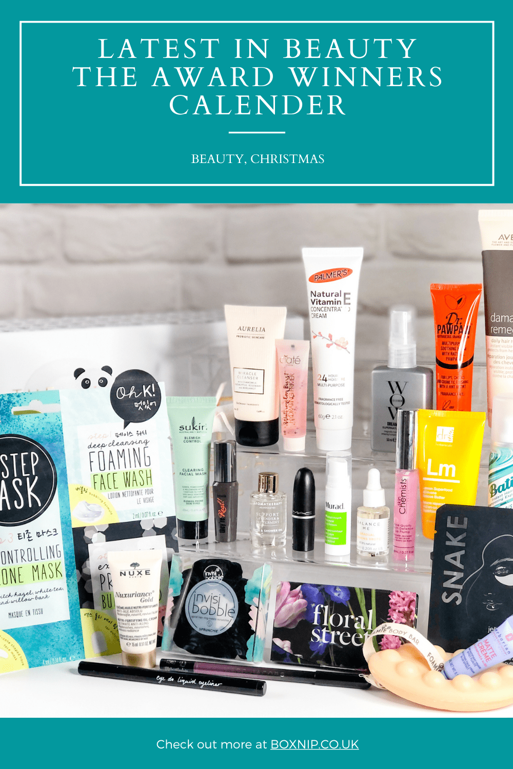 Beauty Calendar: The Award Winners - Pin It