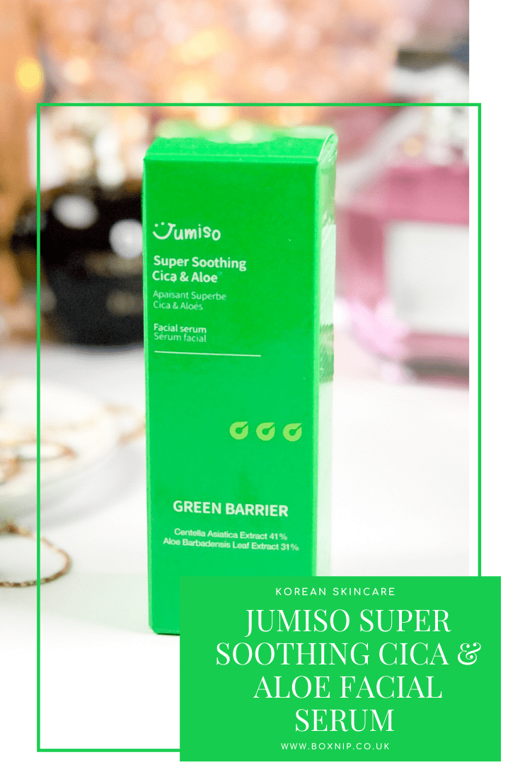 Jumiso Super Soothing Cica & Aloe Facial Serum - PIN IT!