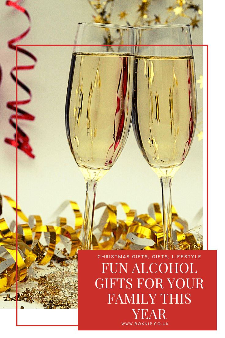 Fun Alcohol Gifts For Your Family This Year