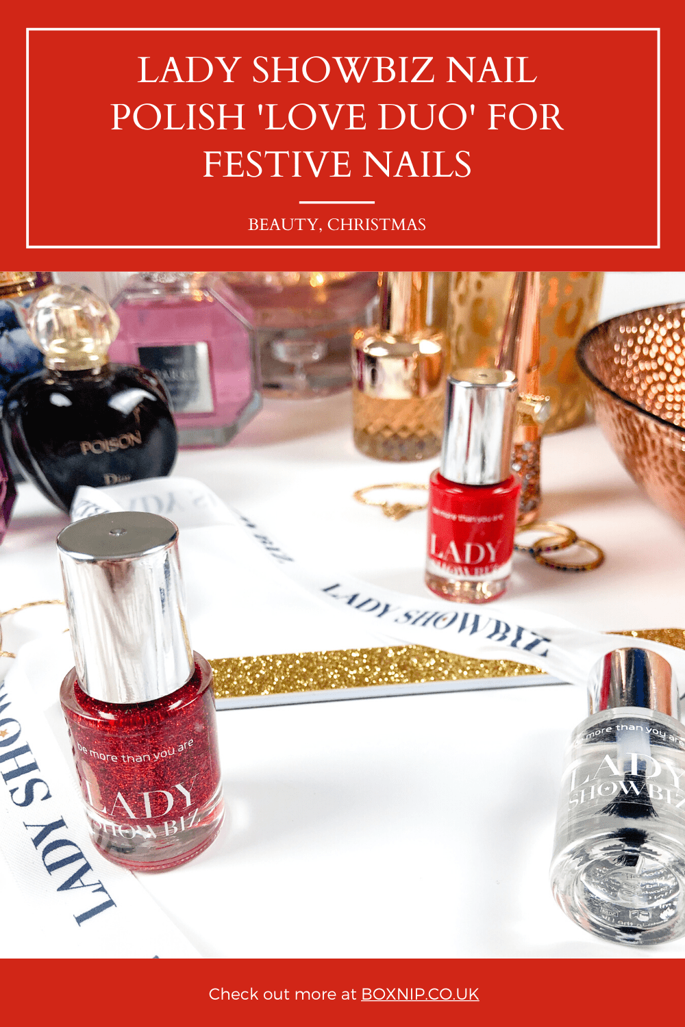Lady Showbiz Nail Polish Duo 'Love Duo' for Perfect Holiday Nails