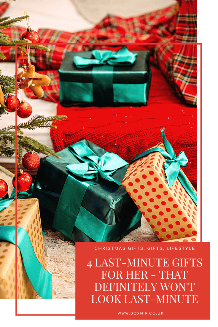 Last-minute Gifts for Her – That Definitely Won't Look Last-minute
