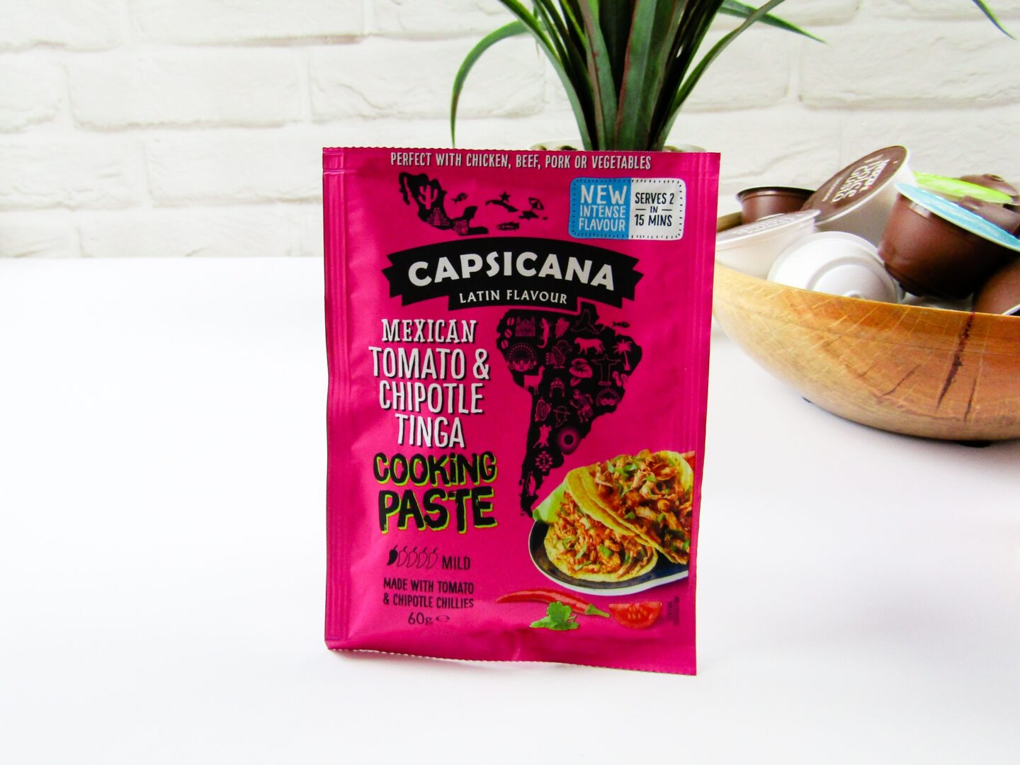Capsicana Mexican Tomato & Chipotle Tinga Cooking Paste
