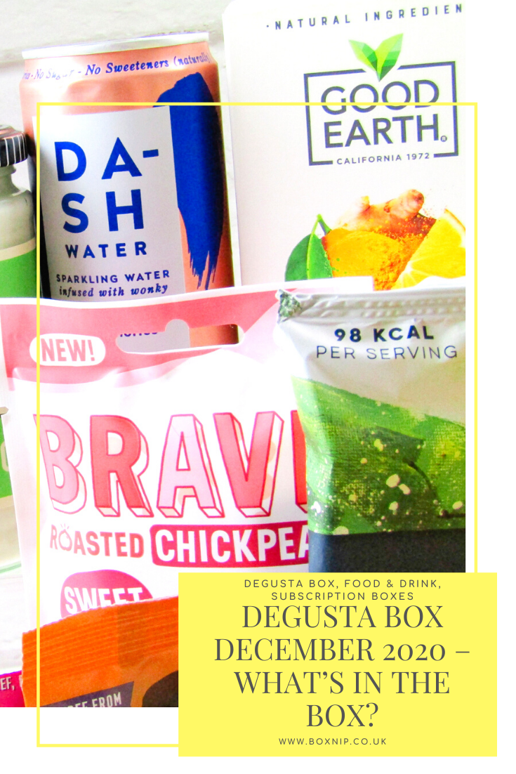 Degusta Box December 2020 – What's In the Box?