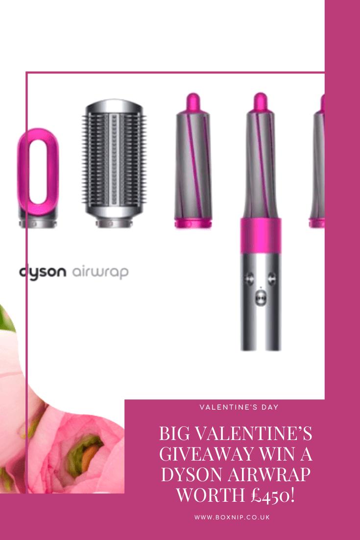 Big Valentine's Giveaway Win A Dyson Airwrap worth £450!