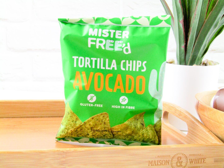 Mister Free'd Avocado Tortilla Chips - Degusta Box, January 2021