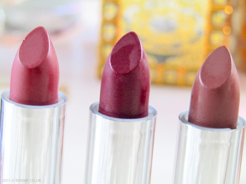 Organic Mineral Lipsticks - 5 Shades  Perfect For A Statement Lip