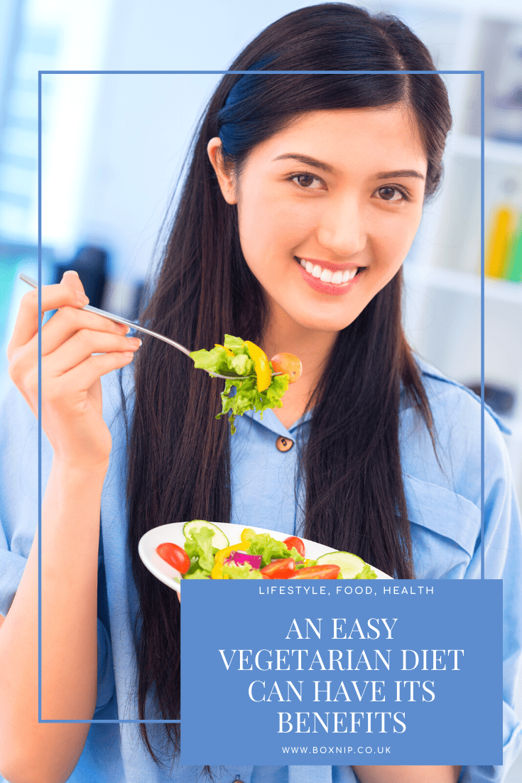 An Easy Vegetarian Diet Can Have Its Benefits