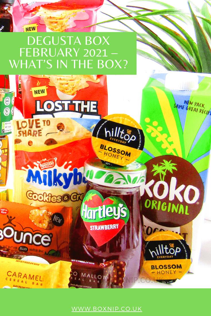 Degusta Box February 2021 – What's In the Box?