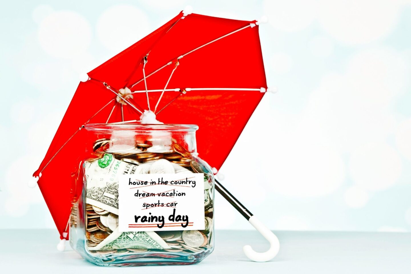 Savings for a rainy day - 10 Things I Would Do If I Won the Lottery