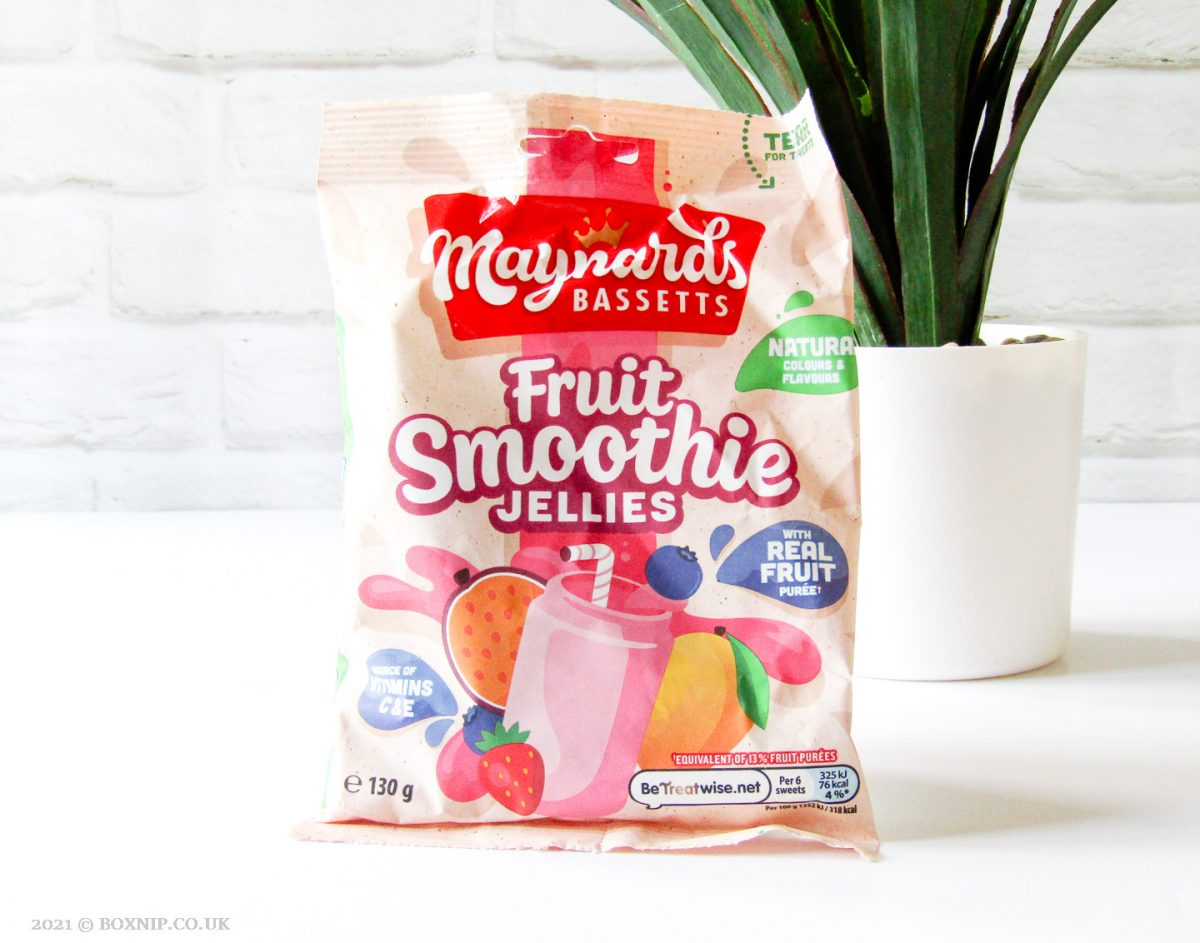 Maynards Bassetts Fruit Smoothie Jellies - Degusta Box for March 2021 – What's In the Box?