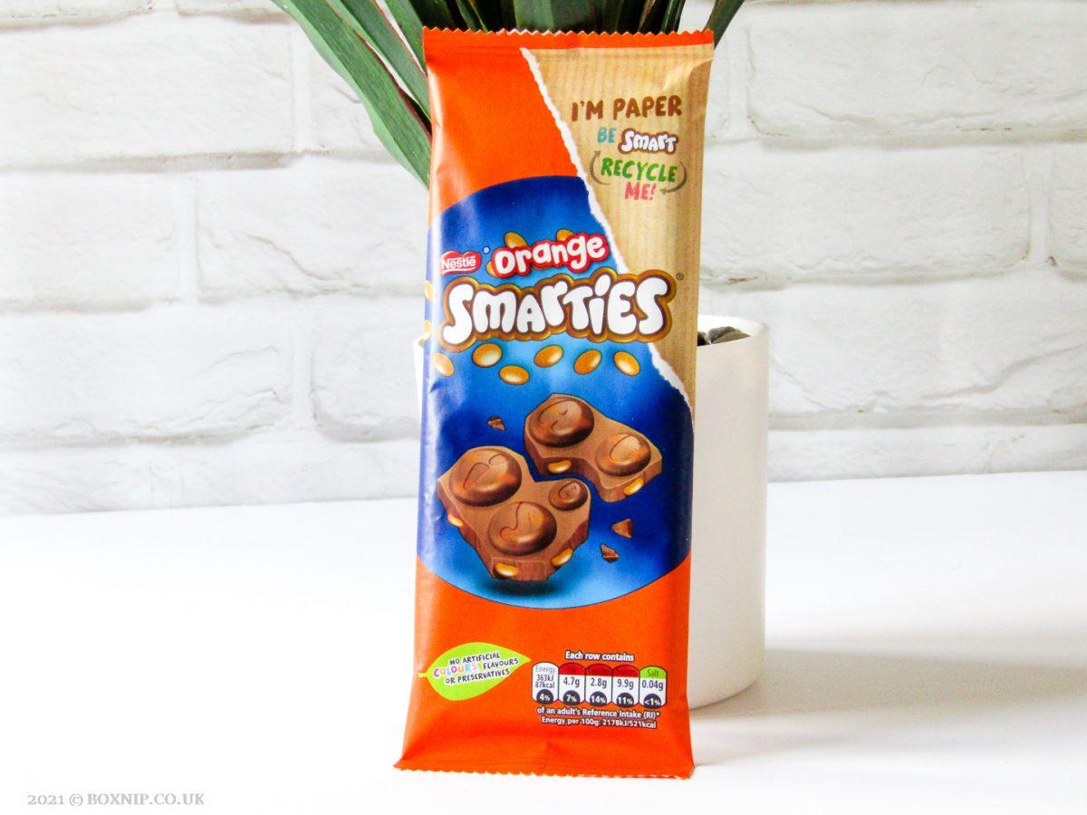 SMARTIES® Orange Chocolate Sharing Block