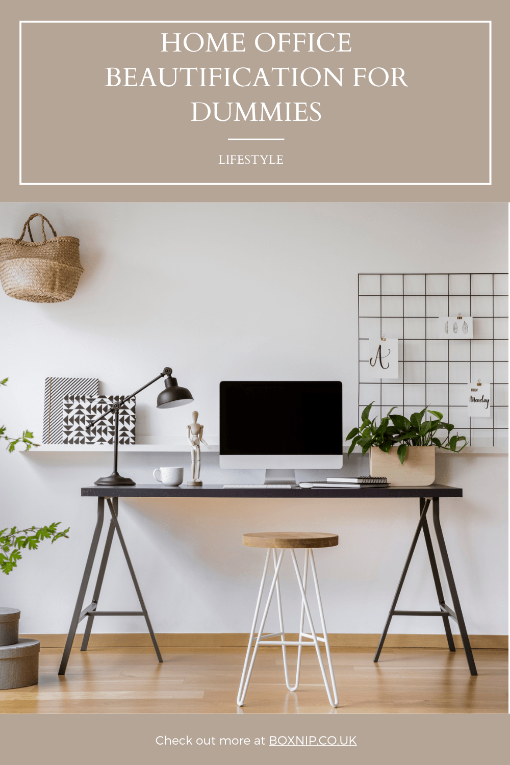 Home Office Beautification For Dummies