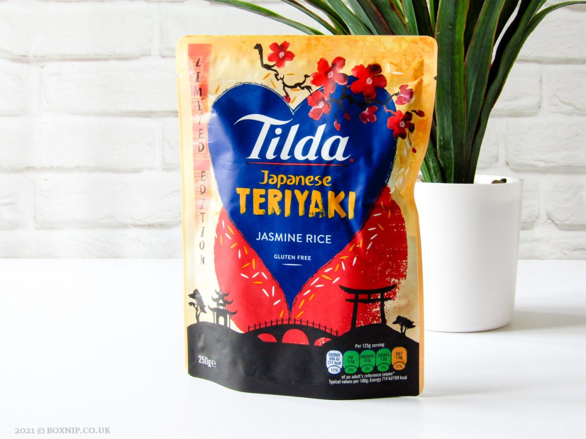 Tilda Japanese Teriyaki Jasmine Rice - Degusta Box for April 2021