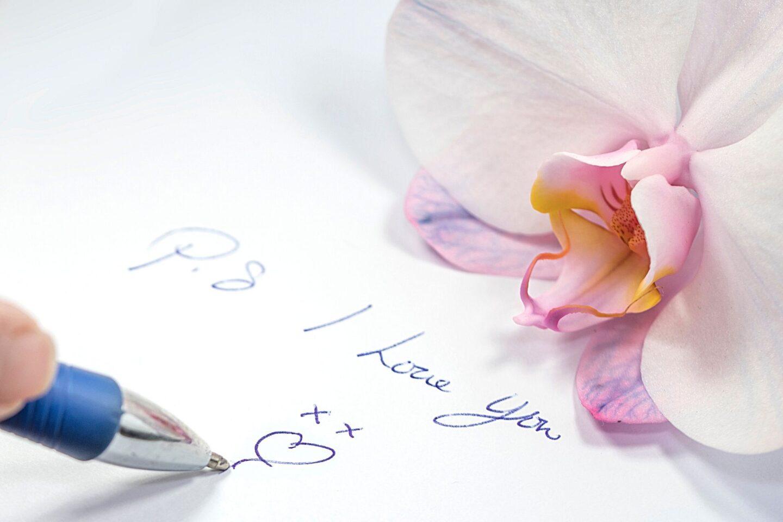 hand-written letters